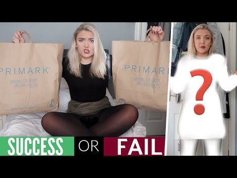 I Wore ONLY Primark Clothes For An Entire Week! *SHOCKING*