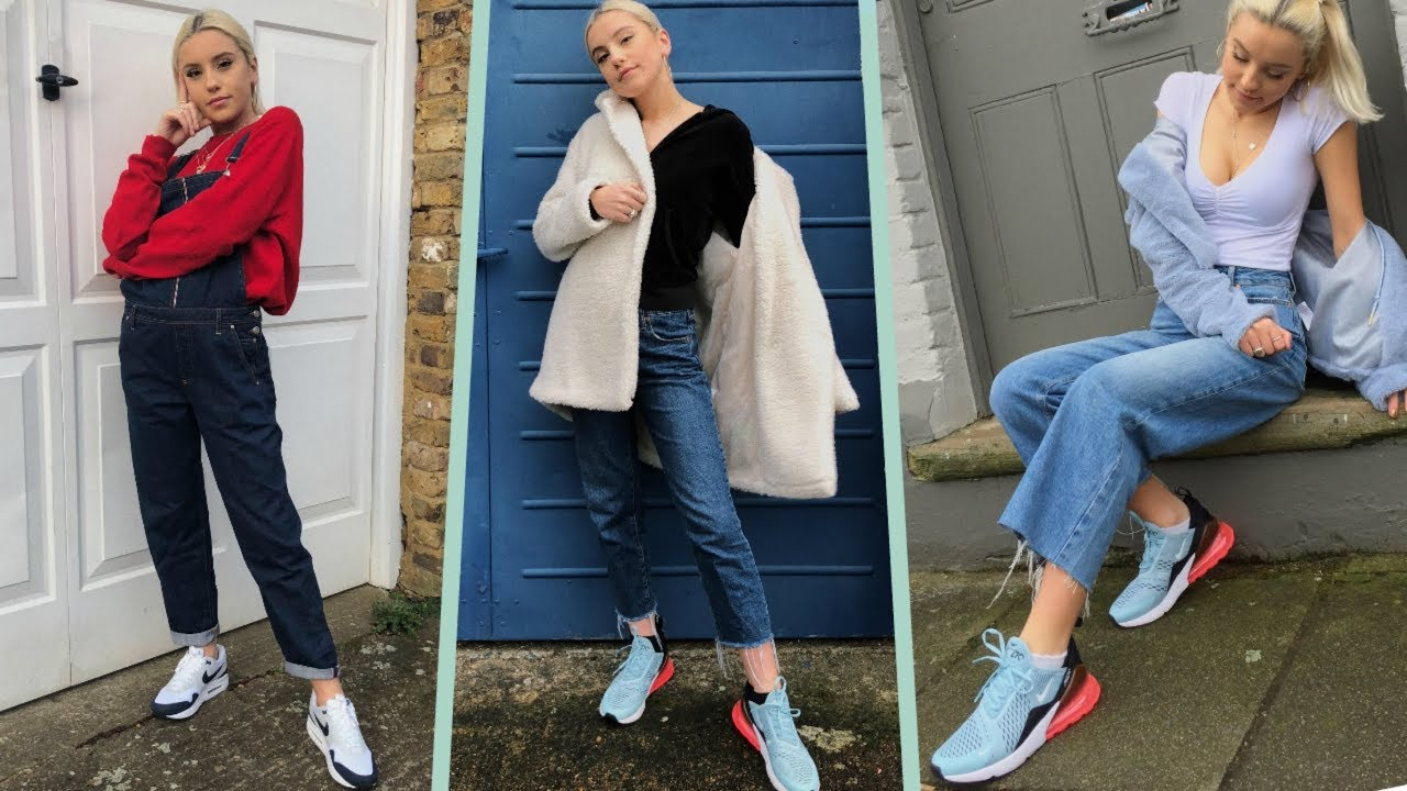 plus de photos 7a40c 53003 MY STYLE IN A LOOKBOOK- MY NIKE AIR MAX 1 & 270 #AD | Oliviagrace