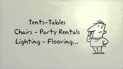 Tent rental Houston | 713-714-0025 | Party Rentals Houston