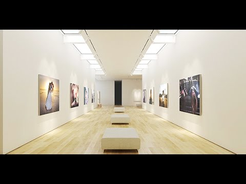 Art Museum Gallery | After Effects Template | Video Displays