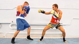 Из этой стойки удары будут сильнее / Передвижения в тайском боксе