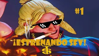Street Fighter V | ¡Estrenando mi PS4 con SFV!