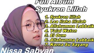 [10.70 MB] Full Album Syukron lillah cover lagu nissa sabyan