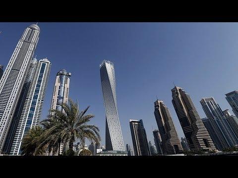 Dubai inaugura edificio en espiral m s alto del mundo for Edificio movil en dubai