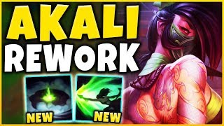 *REWORKED* RIOT IS REMOVING AKALI'S SHROUD AND ULT (IM DONE) - League of Legends