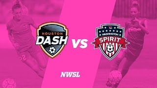 Houston Dash vs Washington Spirit full match