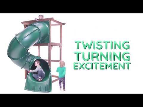 Swing-N-Slide 5' Turbo Tube Slide
