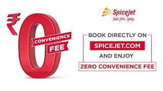 SpiceJet Zero Convenience Offer on Flight Booking