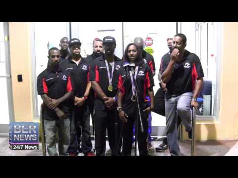 Bermuda's National Wushu Team Return Home, September 11 2014