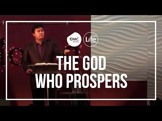 The God Who Prospers  |  Rev Paul Jeyachandran