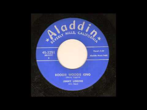 JIMMY LIGGINS - BOOGIE WOOGIE KING - ALADDIN