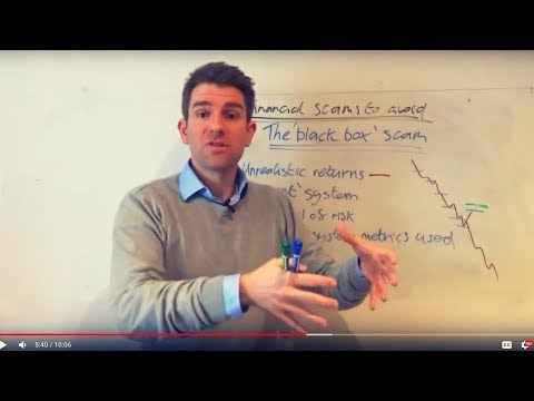 The Black Box Forex Trading System (Forex Robot) Scam