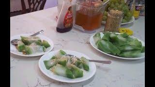 Bánh đúc lá dứa - New York / Pandan leaves rice cake