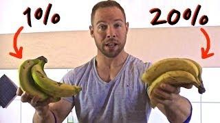 Fitness Ernährung - Fakten über die Banane