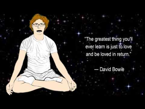 David Bowie Quotes the greatest thing youll ever learn 7