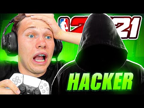 IS HE CHEATING?!? - Spin The Wheel NBA 2K21 #2