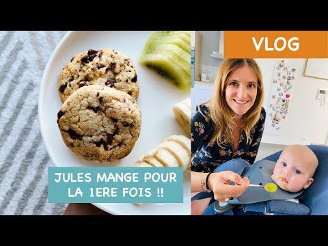 [daily-vlog-#9]---premier-repas-pour-jules-et-cookies-de-cyril-lignac-!!!