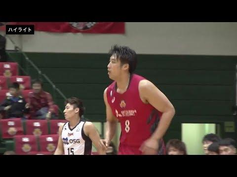 【B1ハイライト】01/26 名古屋D vs 三遠(18-19 B1第21節)