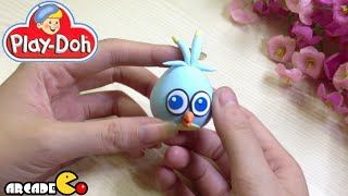 Play Doh Angry Birds Stella Luca - How To Make Angry Birds Stella Luca With Play Doh