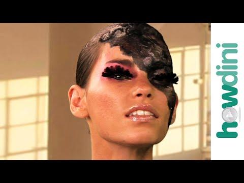 Lady Gaga Inspired Halloween Makeup Tutorial - Halloween Lady Gaga Look