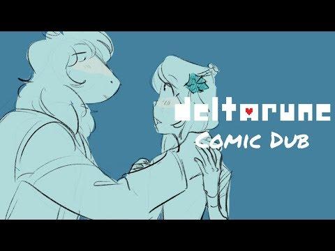 Suselle in the Rain -- Deltarune Comic Dub [SUSIE X NOELLE]