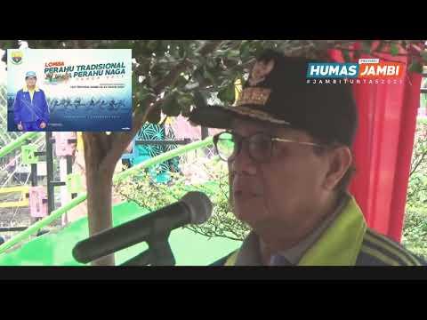 Lomba Perahu Tradisional Tahun 2019,yang Berlangsung Di Kawasan Danau Sipin - Jambi, Minggu (08/12)