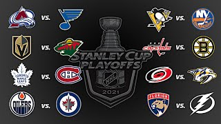 2021 Stanley Cup Playoffs | Round 1 | Every Goal