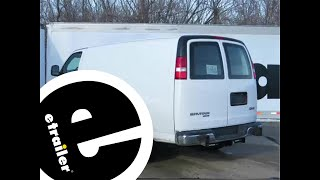 Trailer Hitch Installation - 2014 GMC Savana Van - Draw-Tite - etrailer.com