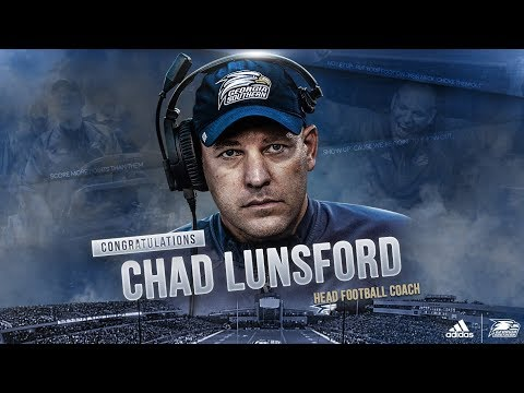 Press Conference - Chad Lunsford Officially Named Head Coach of Georgia Southern Football