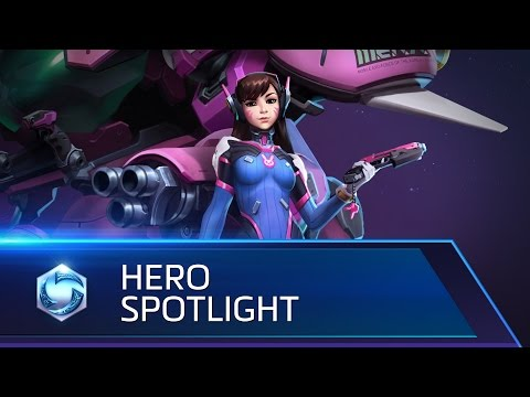 D.Va Spotlight – Heroes of the Storm