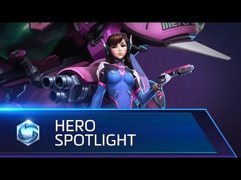 D.Va Spotlight – Heroes of the Storm
