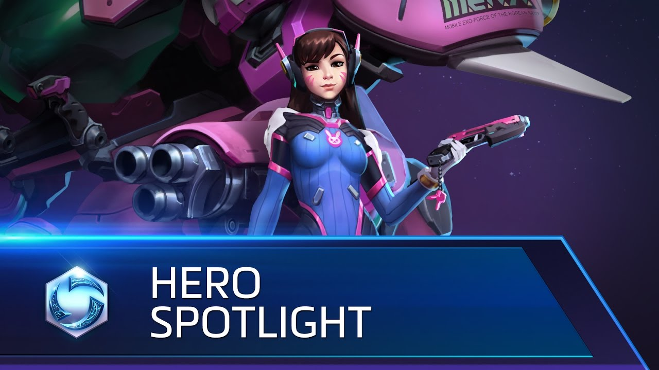 Image result for D.Va is now playable on the Heroes of the Storm PTR images