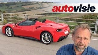 Autovisie Vlog: Testdrive Ferrari 488 Spider - by Autovisie TV