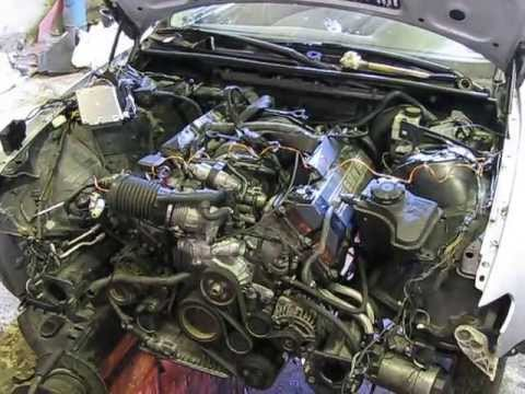 Bmw E46 V8 4 4 M62 First Start Youtube