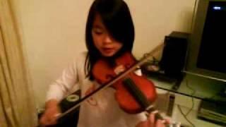 """""""The Ash Grove"""" violin"""
