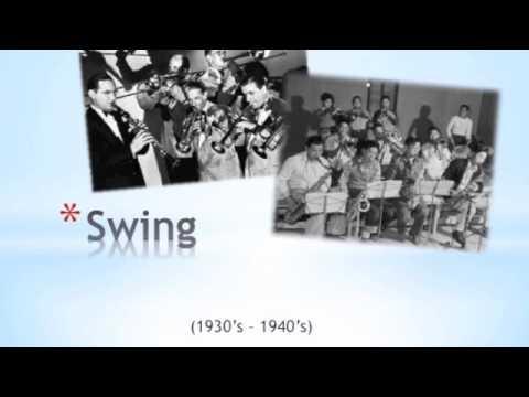 Jazz TimeLine  MUSC 3 Music Appreciation