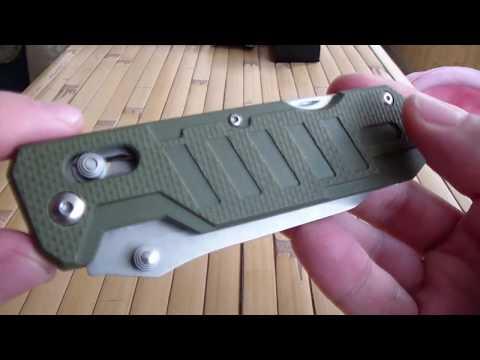 Ganzo G 735 Обзор ножа (+5 к стропорезу и +10 к открывалке)