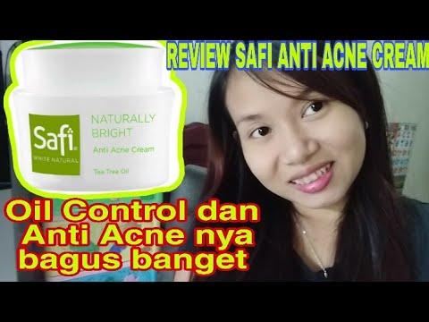 Review Safi Anti Acne Cream Safi Cream Lokal Skincare Lokal Youtube