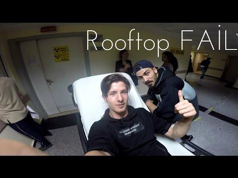 Rooftop FAİL   10 Metre Çatıdan Aşağı Yuvarlandım   Pavel Smirnov & Fırat Somut