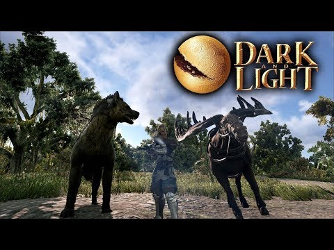 Dark and Light - Town Vendors Donation Perks & Taming Creatures! (Dark and Light Gameplay Part 7)