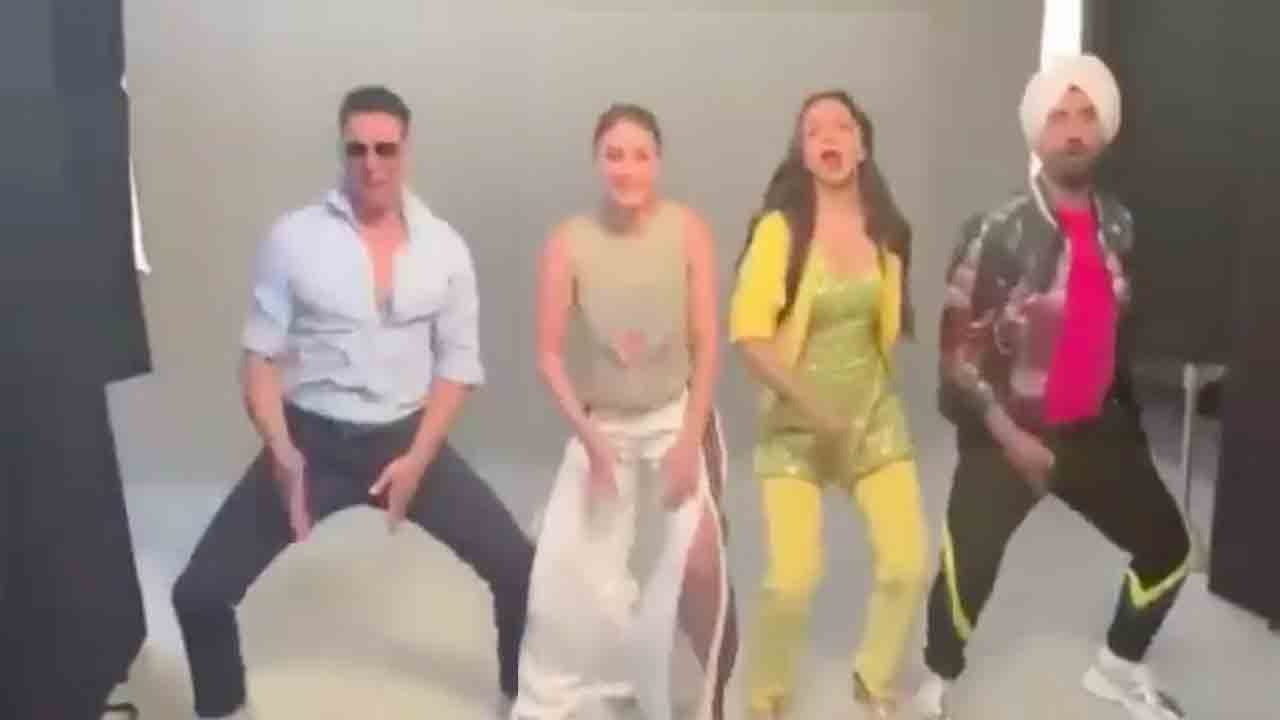 Kareena Kapoor & Kiara Advani's FAADU Dancing On BALA-O-BALA Song Hook Step Wid Akshay Kumar