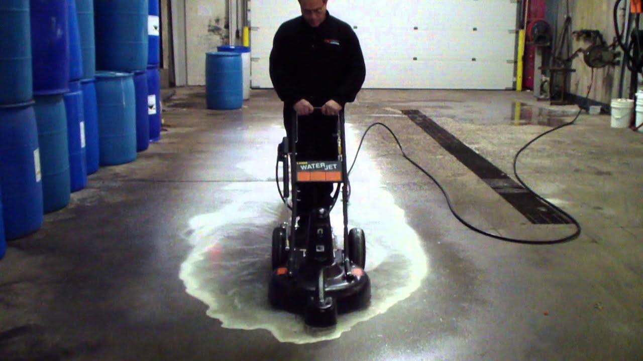 Landa Cyclone  Landa Water Jet highspeed surface cleaner