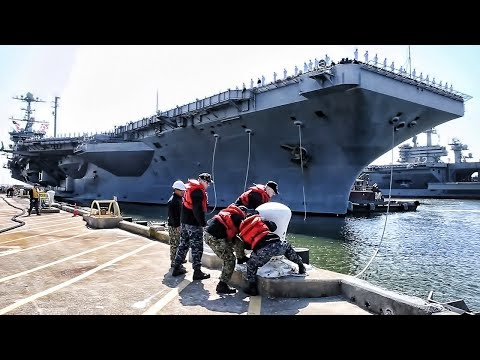 Carrier Strike Group: USS Harry S. Truman Deploys April 2018