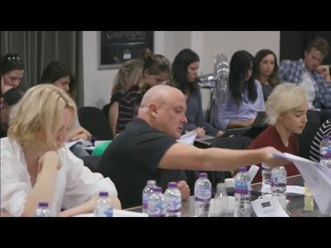 Conleth Hill Table Read Reaction To Varys Death (Season 8, The Last Watch, Game Of Thrones)