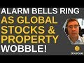 Alarm Bells Ring and Gold Rises In October As Stocks and Property Fall Globally