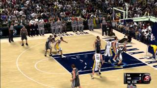 "NBA 2K11 - Xbox 360 ""Spurs at Pacers"""