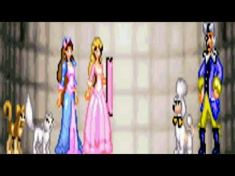 Barbie The Princess And The Pauper All Bosses No Damage (GBA)