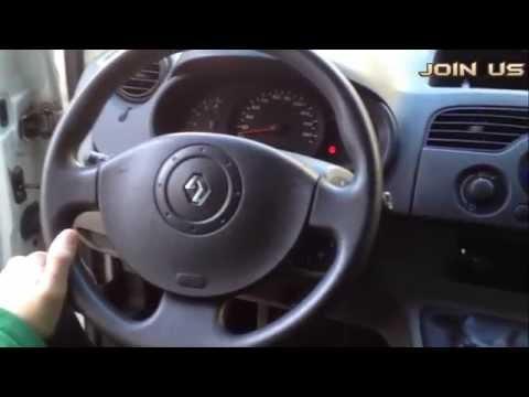 Перетяжка руля кожей - своими руками на Renault Kangoo, за 7 $ !!!!!!!!!!