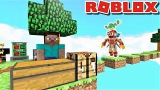ESCAPE THE MINECRAFT OBBY IN ROBLOX!! | Le côté étrange de Roblox