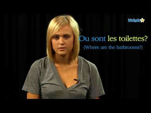 How To Ask For The Bathroom In French Youtube